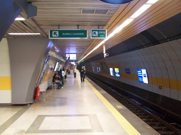 метрото в Истанбул