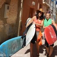 На сърф в Мароко