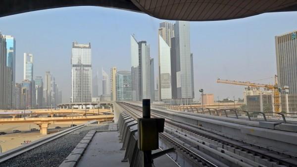 Метрото в Дубай